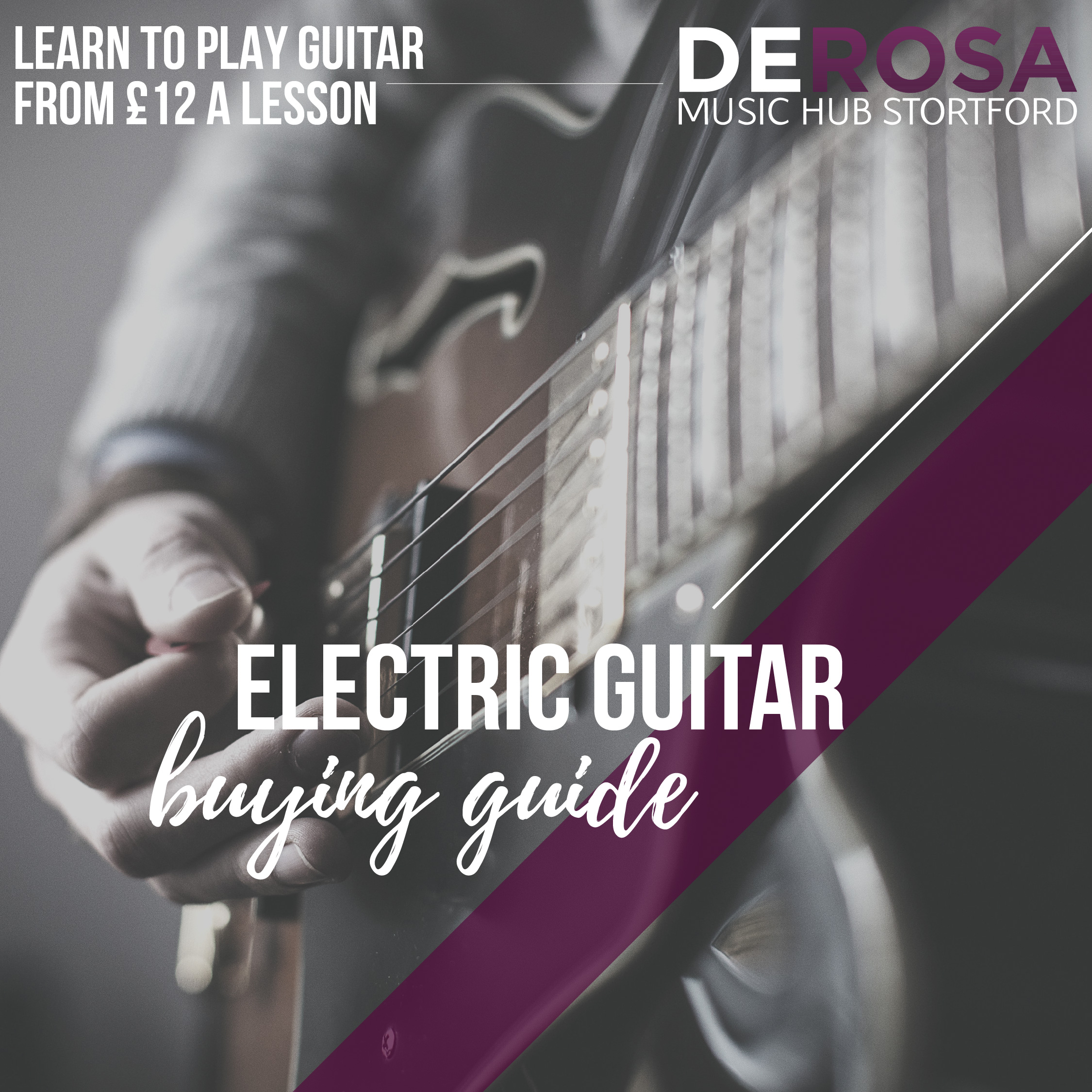 A guide to buying an electric guitar