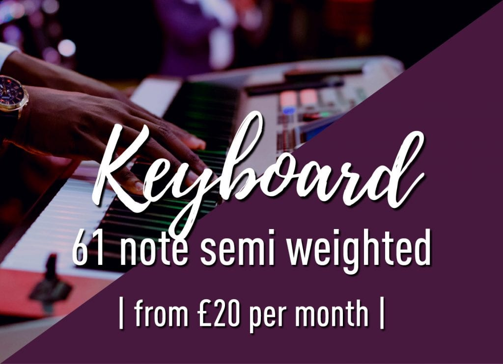 61 note semi-weighted keyboard