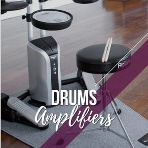 Amplifiers for Drums