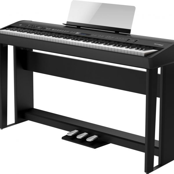 Roland FP90 Digital Piano in Black | Derosa Music | Bishops Stortford | Herts Essex and Cambs