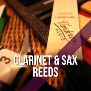 Clarinet & Sax Reeds